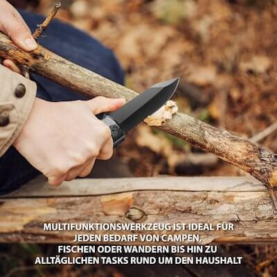 Ravpower Multi-Tool beim arbeiten mit Holz